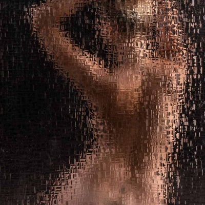 Glas 1 Frau Blond Akt Kunst